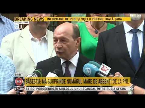 Traian Basescu despre cazul Rarinca