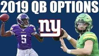 Who Replaces Eli Manning in 2019? 11 QB Options for Next Season