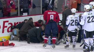 Ovechkin's hit on Heward (HDTV) - January 1, 2009