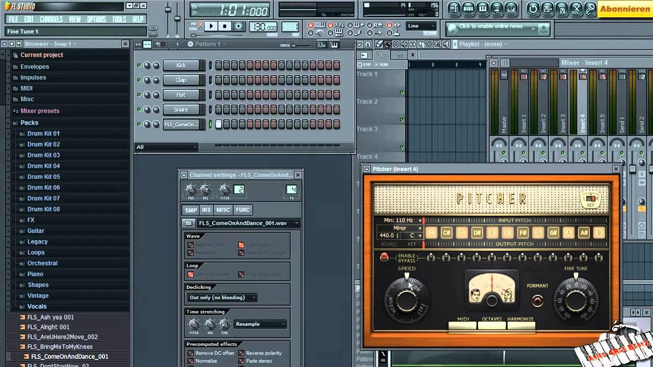 Fl studio как сделать гитару