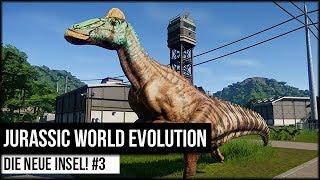 Die neue Insel! - Jurassic World Evolution #3 [ deutsch 🐄 gameplay ]