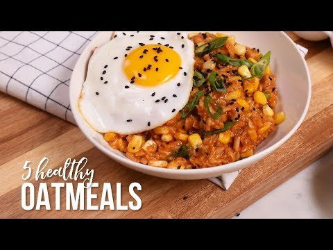5 NEW Healthy Oatmeal Recipes!