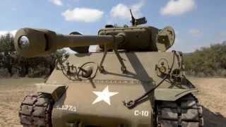 M4 Sherman Tank!