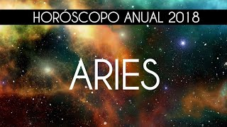 HORÓSCOPO ANUAL 2018 ARIES