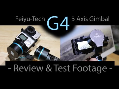 Feiyu-Tech G4 Hand Held - (FY-G4) Review & Testing