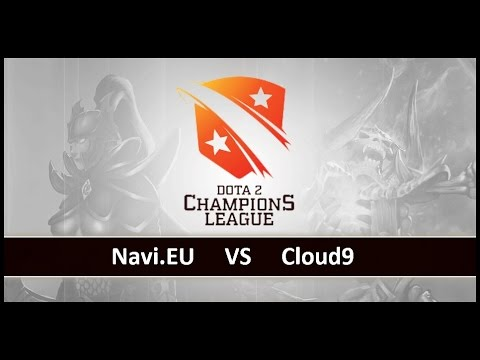 [ Dota2 ] Navi.EU vs Cloud9 - D2 Champions League S4 - Thai Caster