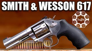 Smith & Wesson 617 - What a .22 Revolver Should Be!