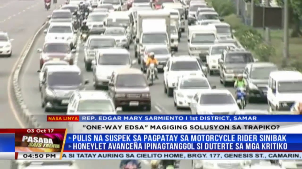 Solon pushes for 'one-way all the way' EDSA