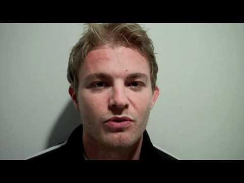Nico Rosberg Video Blog nach Platz 13 beim Malaysia GP 2012: