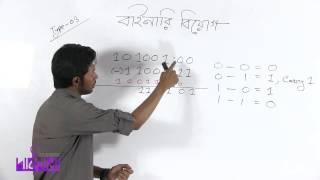 04. Binary Subtraction, Multiply, divide | বাইনারি বিয়োগ, গুন ,ভাগ | OnnoRokom Pathshala