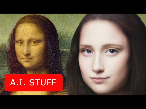 [AI stuff] Top-7 world-famous portraits transformed into living human beings