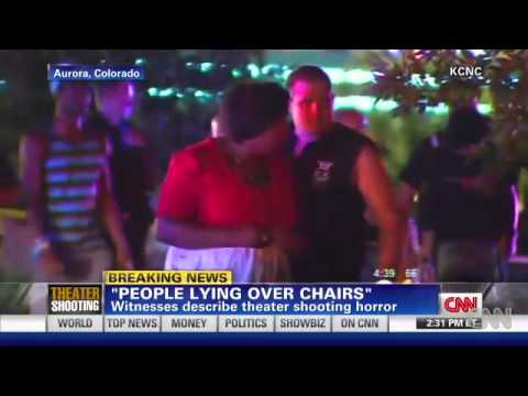 Colorado Theater Eyewitness Describes Gunman & Possible Accomplice