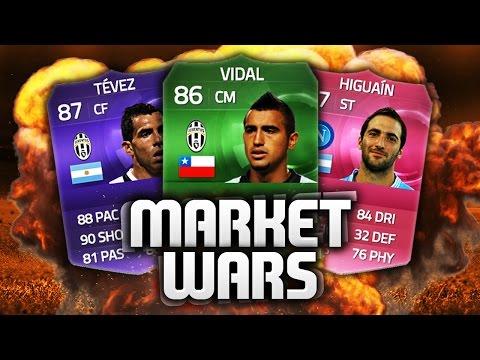FIFA 15 - INSANE MARKET WARS VS AJ3FIFA (Serie A)