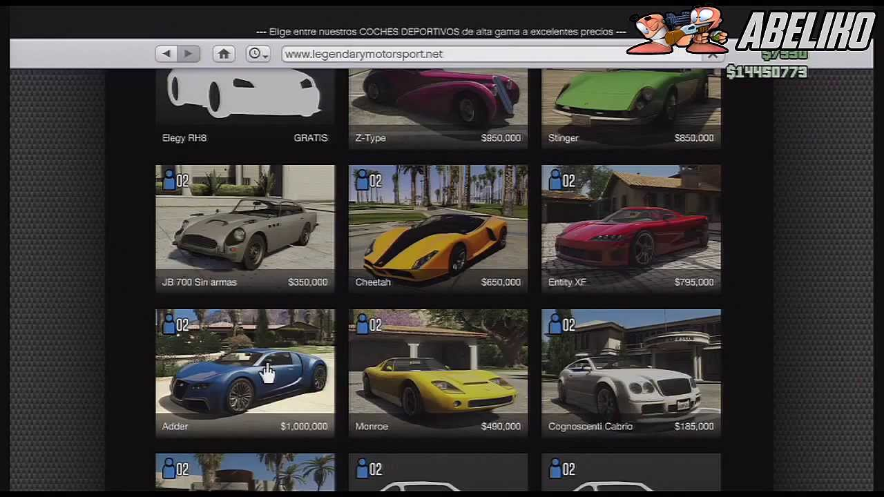 Online Coches Truco Gta v Online Coches de