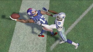 Can I Recreate the Famous Odell Beckham Jr Catch in Madden!!!??? Madden Challenge and Gameplay