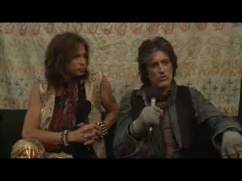 The Lowdown @ Download 2010: Aerosmith - Steven and Joe