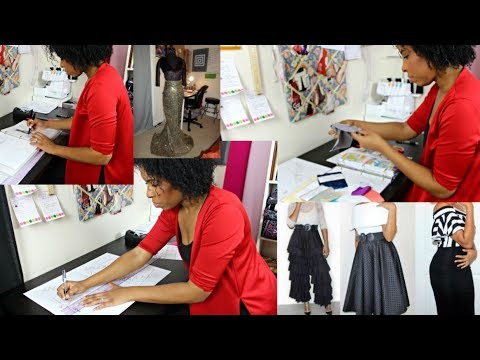 TK Life Vlog #1: Becoming a Self-Taught Fashion Designer