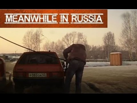 Meanwhile at a Russian Gas Station
