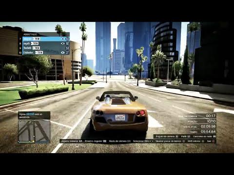 GTA V - O Circuito Hu3 Pulando Prédios