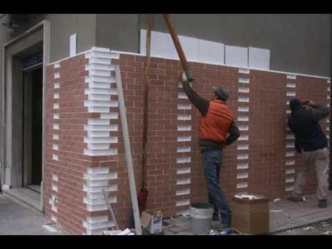 Listelli mattone da rivestimento