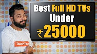 TOP 7 BEST FULL HD TVs UNDER ₹25000 📺 📺 📺 Best Budget Televisions