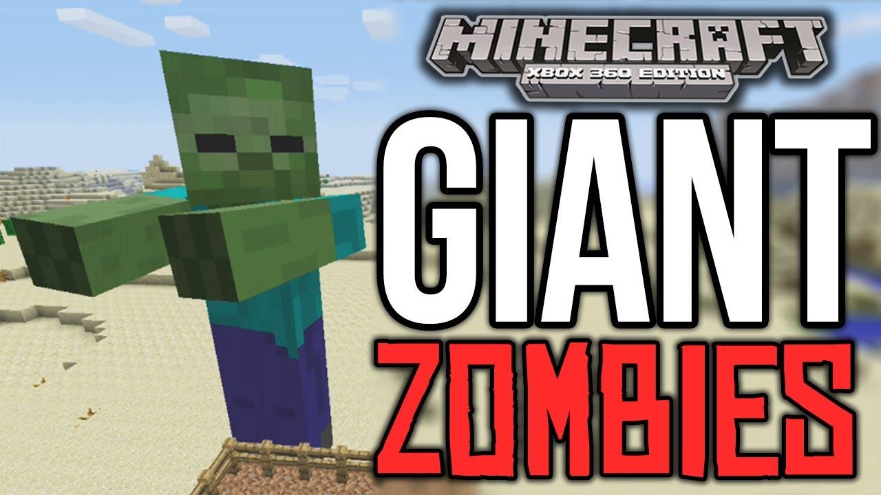Minecraft Xbox 360 Giant