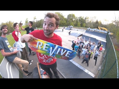 What Revive Skateboards Stands For