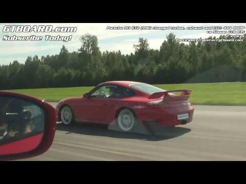 1080p: Nissan GT-R vs Porsche 911 GT2 (996) 484 RWHP