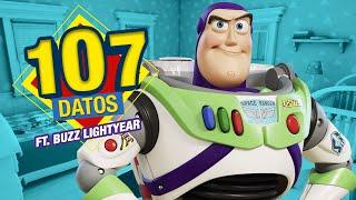 Buzz Lightyear nos cuenta los 107 Datos de Toy Story que DEBES saber | Atómico #328 | Átomo Network