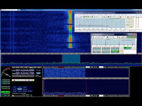 HF Digital Signal - Unknown mode was not able to identify