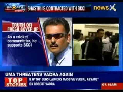 Row over Ravi Shastri's inclusion