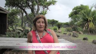Embracing Health Retreat Testimonial - Rosemarie