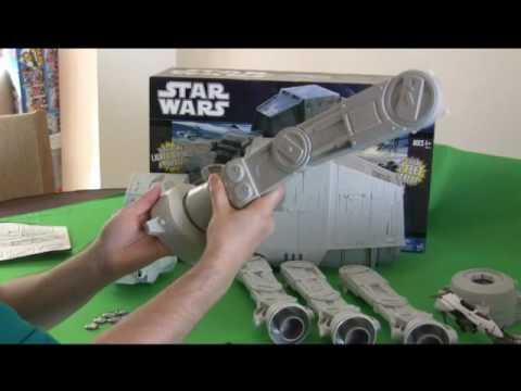New Hasbro AT-AT Part 1 - JediNews.co.uk Review