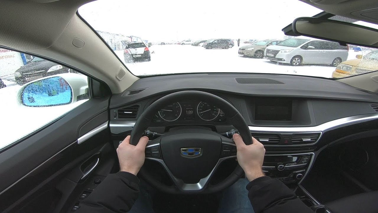 2019 Geely Emgrand GT POV Test Drive