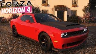 Forza Horizon 4 : Dodge Challenger DEMON