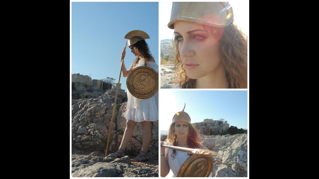 Goddess Athena Make-up