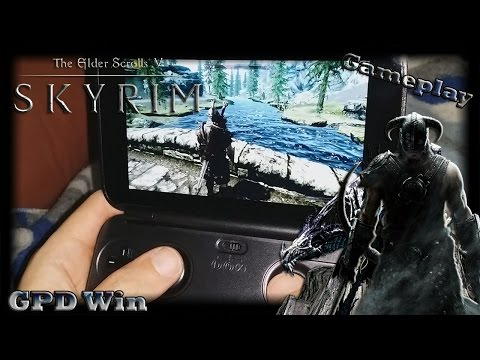 GPD Win (The Elder Scrolls V: Skyrim) [Gameplay]
