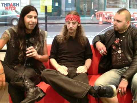 Thrash Hits TV: Ol Drake and Ben Carter from Evile on Five Serpent's Teeth