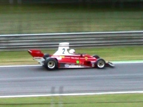 Historic Formula 1 (F1) Cars PURE SOUND!! Coppa Intereuropa 2009