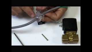 How to Wire a DIN Plug for Solenoid Coil