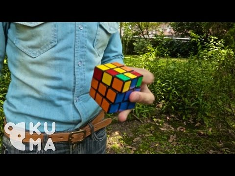 One Handed Rubik's Cube Madness Will Leave You Amazed!