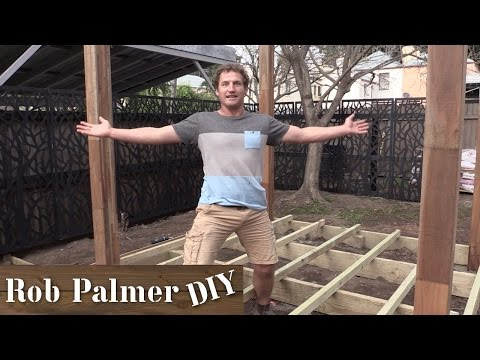 Building a Simple Deck | Rob Palmer DIY