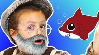 Baby Shark Dance | Which One is Eliza? | Eliza Rocks!