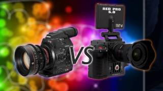 Canon C300 vs The Red Scarlet!