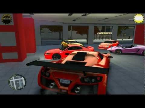 Sport Cars Dealer Garage Gta