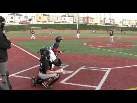 San Francisco Little League Red Sox Baseball 2011