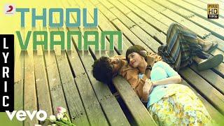 Anegan  Thodu Vaanam Lyric  Dhanush  Harris Jayara