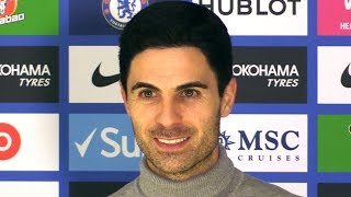 Chelsea 2-2 Arsenal - Mikel Arteta FULL Post Match Press Conference - Premier League - SUBTITLES