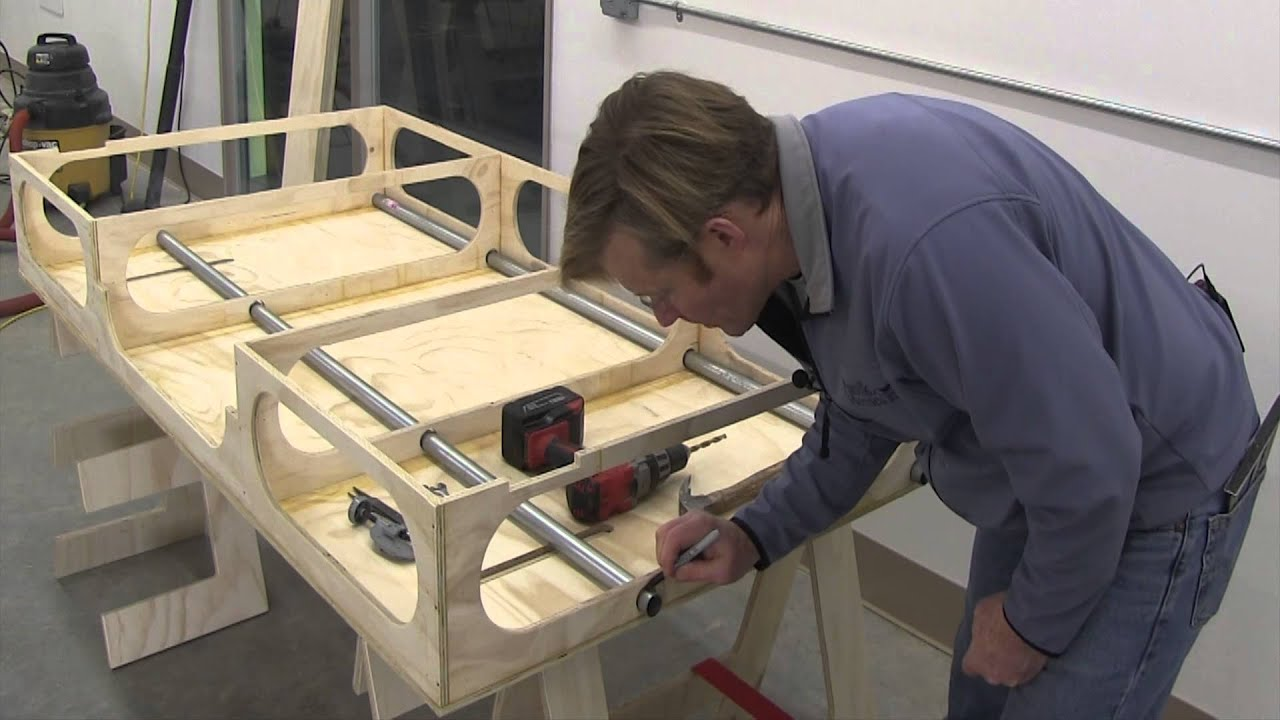 BUILDING THE PAULK TOTAL STATION PART 7 :Shop made T-Track & Table Saw ...