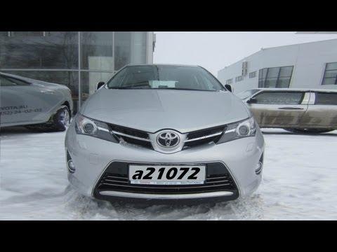 Toyota Auris (2013) Тест-драйв